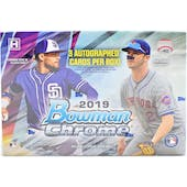 2019 Bowman Chrome Baseball HTA Choice 6-Box- DACW Live 28 Spot Random Team Break #2