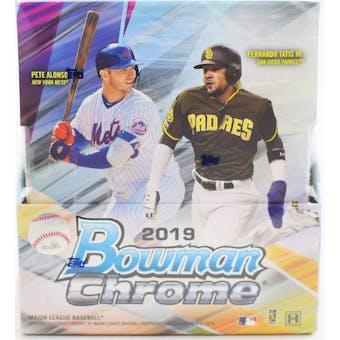 2019 Bowman Chrome Baseball Hobby 6-Box- DACW Live 28 Spot Random Team Break #4