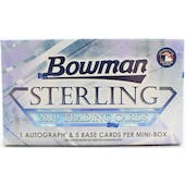 2019 Bowman Sterling Baseball Hobby Mini-Box