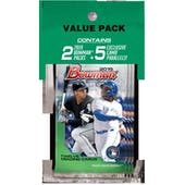 2019 Bowman Baseball Jumbo Value Pack (Lot of 12)