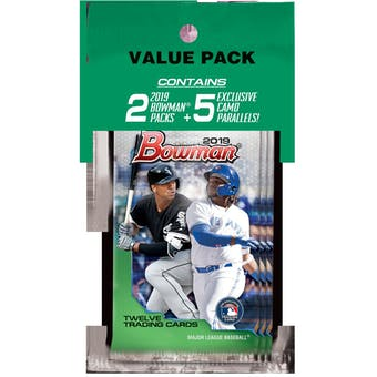 2019 Bowman Baseball Value Pack