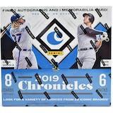 2019 Panini Chronicles Baseball Hobby Box