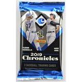 2019 Panini Chronicles Baseball Hobby Pack