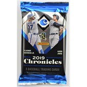 2019 Panini Chronicles Baseball Hobby Pack