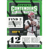 2019 Panini Contenders Draft Picks Football 7-Pack Box