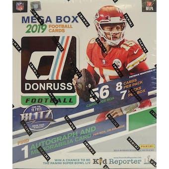2019 Panini Donruss Football Mega Box