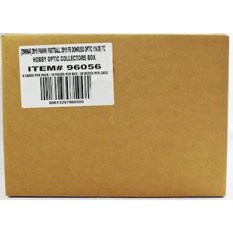 2019 Panini Donruss Optic Football Hobby Collectors 20-Box Case