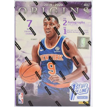 2019/20 Panini Origins 1st Off The Line Basketball Hobby Box