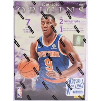 2019/20 Panini Origins 1st Off The Line Basketball Hobby Box