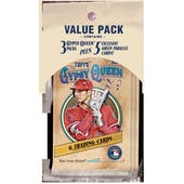 2019 Topps Gypsy Queen Baseball Value Pack (Lot of 6)