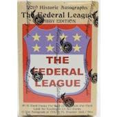2019 Historic Autographs Fed League Baseball Hobby Box
