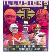 2019 Panini Illusions Football Mega Box
