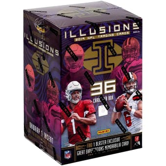 2019 Panini Illusions Football Blaster Box