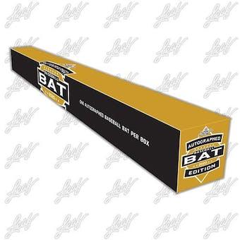 2020 Leaf Autographed Baseball Bat Edition Hobby Box