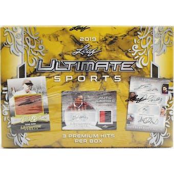 2019 Leaf Ultimate Sports Hobby Box