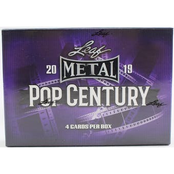 2019 Leaf Metal Pop Century Hobby Box