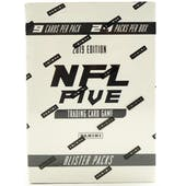 2019 Panini NFL Five Football Trading Card Game 24ct Booster Box