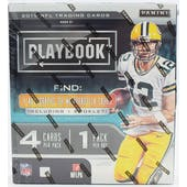 2019 Panini Playbook Football Hobby Box
