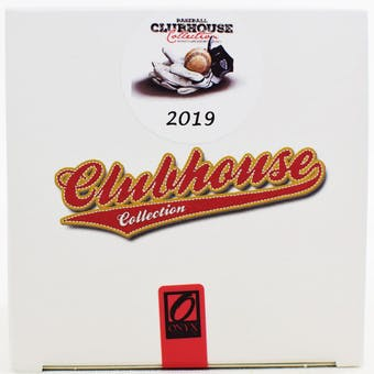 2019 Onyx Clubhouse Collection Baseball Hobby Box