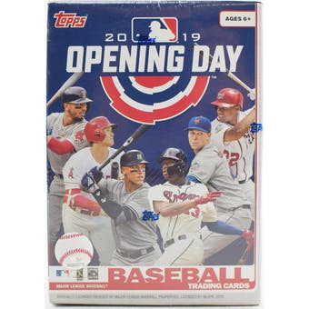 2019 Topps Opening Day Baseball 11-Pack Blaster Box