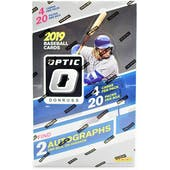 2019 Panini Donruss Optic Baseball Hobby Box