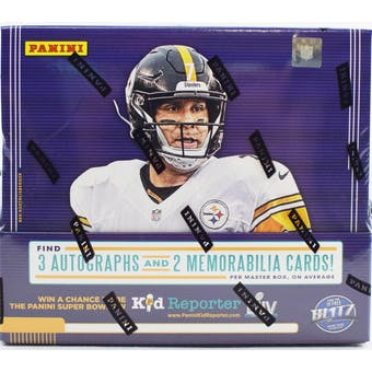 2019 Panini Absolute Football 12-Box Case- DACW Live 32 Spot Pick Your Team Break #1