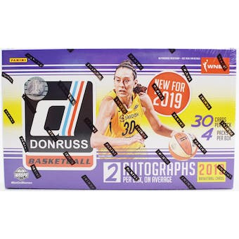 2019 Panini Donruss WNBA Basketball Hobby Box