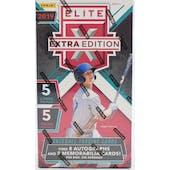 2019 Panini Elite Extra Edition Baseball Hobby Box
