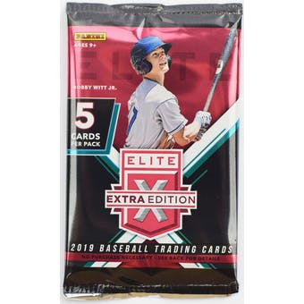 2019 Panini Elite Extra Edition Baseball Hobby Pack