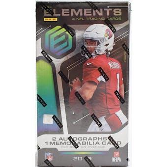 2019 Panini Elements Football Hobby Box