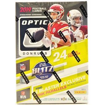 2019 Panini Donruss Optic Football 6-Pack Blaster Box