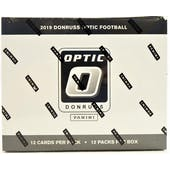 2019 Panini Donruss Optic Football Fat Pack Box