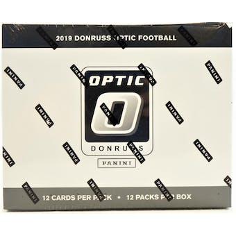 2019 Panini Donruss Optic Football Fat/Jumbo Pack Box