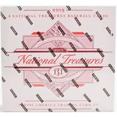 2019 Panini National Treasures Baseball Hobby Box