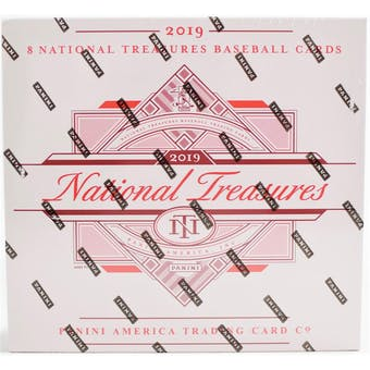 2019 Panini National Treasures Baseball 4-Box Case- DACW Live 30 Spot Pick Your Team Break #1