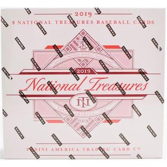 2019 Panini National Treasures Baseball 4-Box Case- DACW Live 30 Spot Pick Your Team Break #1