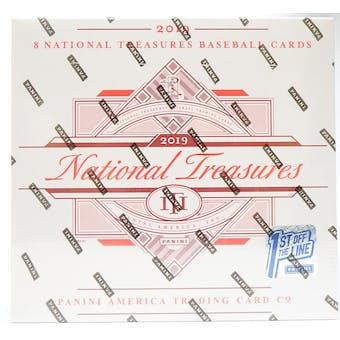2019 Panini National Treasures 1st Off The Line FOTL Baseball Hobby Box