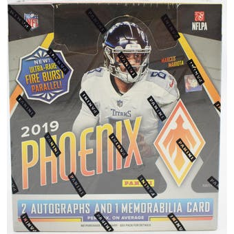 2019 Panini Phoenix Football 8-Box Case- DACW Live 32 Spot Pick Your Team Break #1
