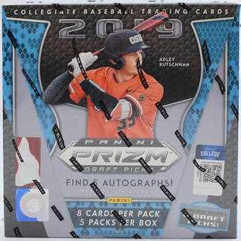 2019 Panini Prizm Draft Picks Baseball Hobby Box