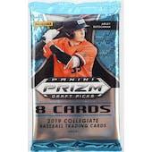 2019 Panini Prizm Draft Picks Baseball Hobby Pack