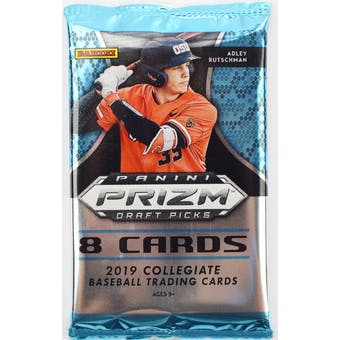 2019 Panini Prizm Draft Picks Baseball Hobby Pack