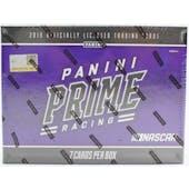 2019 Panini Prime Racing Hobby Box