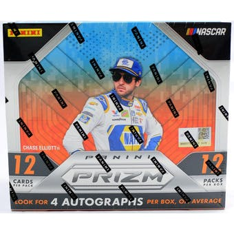 2019 Panini Prizm Racing Hobby Box