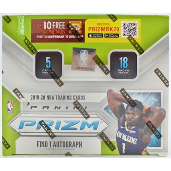2019/20 Panini Prizm Fast Break Basketball Box