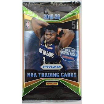 2019/20 Panini Prizm Fast Break Basketball Pack