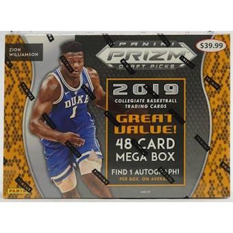 2019/20 Panini Prizm Draft Picks Basketball Mega Box