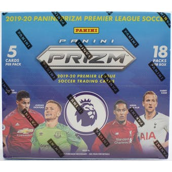 2019/20 Panini Prizm Premier League Breakaway Soccer Box