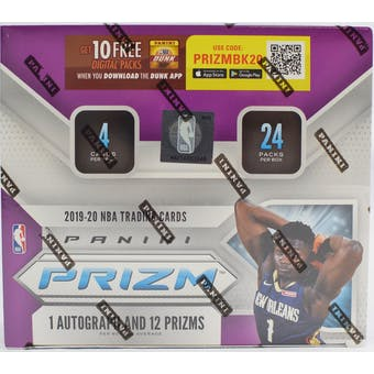 2019/20 Panini Prizm Basketball 24-Pack Retail Box