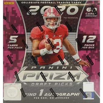 2020 Panini Prizm Draft Picks Football Mega Box