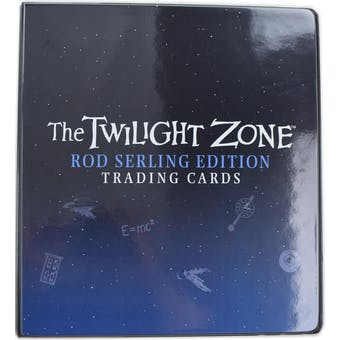 Twilight Zone Rod Serling Edition Trading Cards Album (Rittenhouse 2019)